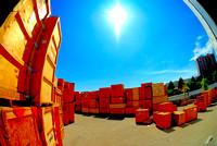 Sun And Crates